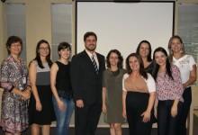 Palestrantes e membros da Comissão Especial de Residência de Enfermagem.